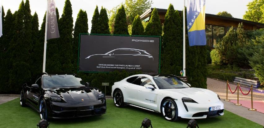 Predstavljen potpuno električni Porsche Taycan 4 Cross Turismo