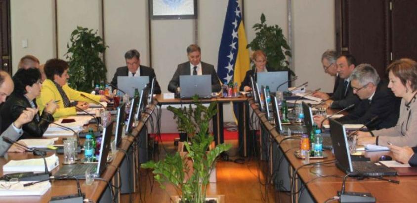 Vijeće ministara o tromjesečnom privremenom finansiranju bh. institucija