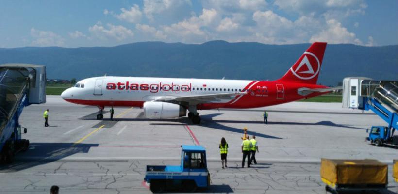 AtlasGlobal treća aviokompanija koja sa sarajevskog aerodroma leti u Tursku