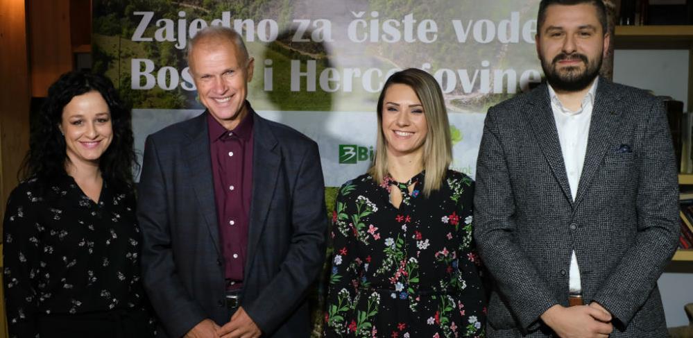 """Predstavljena nova sezona ekološkog projekta """"Zajedno za čiste vode BiH"""""""