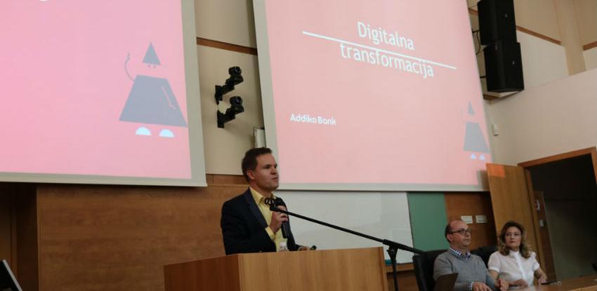 Digitalna transformacija poslovanja Addiko Bank predstavljena studentima