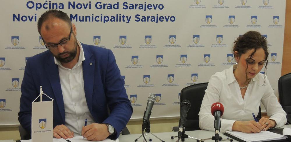 Potpisan sporazum za uređenje šetnice i popločanje Bulevara branilaca Dobrinje