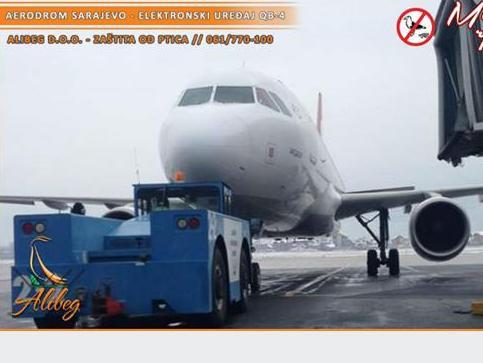 Novo u Alibegu: Ultrazvučna zaštita od ptica na sarajevskom aerodromu