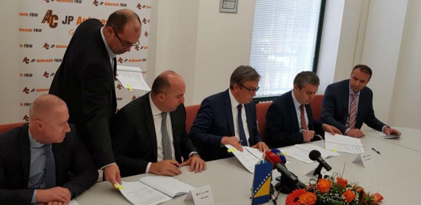 Potpisan Ugovor o izgradnji dionice koridora Vc Donja Gračanica - tunel Zenica