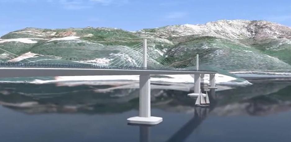 Stigle tri ponude za gradnju Pelješkog mosta