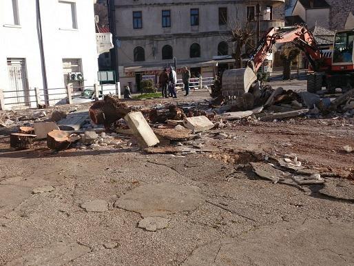 "Mostar: Počela rekonstrukcija gradske tržnice ""Tepe"""