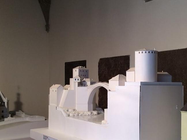 Maketa mostarskog Starog grada izložena na festivalu u Pragu