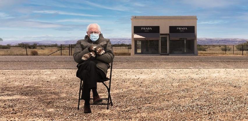 Bernie Sanders kreirao dukseve sa svojim likom, nakon što je postao viralni hit na internetu