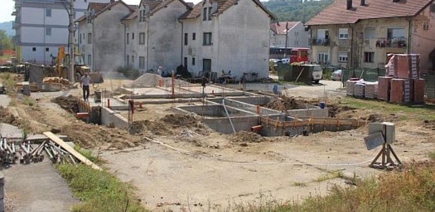 U općini Sapna počela izgradnja zgrade sa devet stambenih jedinica