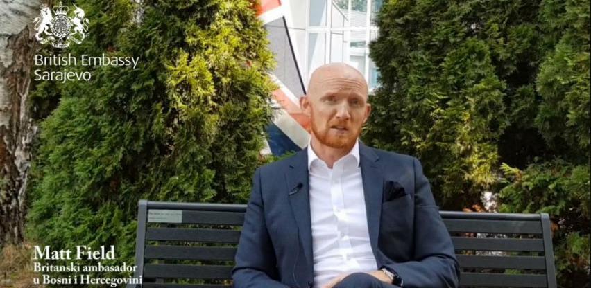 Novi britanski ambasador Matthew Field: Radujem se životu u BiH