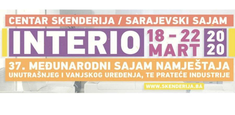 Poziv za učešće na sajmu INTERIO 2020