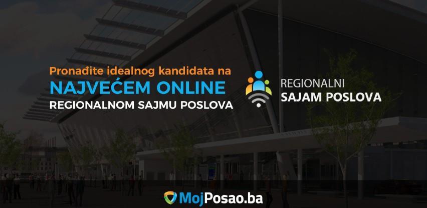 Najveći regionalni online sajam poslova od 7. do 14. oktobra 2020.