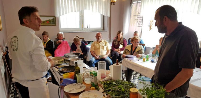 Alterural održao radionicu o ljekovitom bilju u gastronomiji