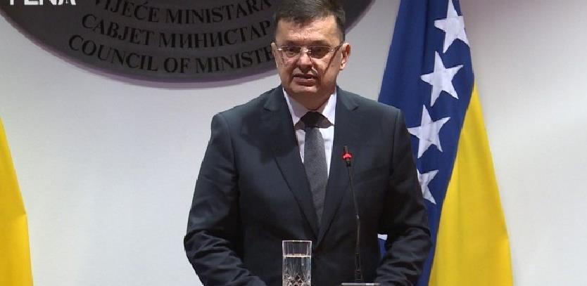 Tegeltija traži od međunarodnih institucija 600 miliona eura pomoći za privredu