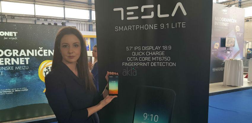 Comtrade Distribution prvi put predstavio novi model smartphone-a Tesla 9.1 lite