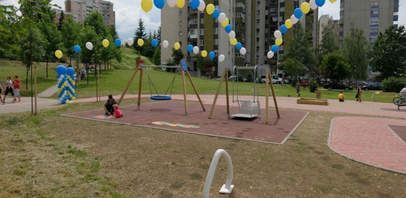 Izgrađen prvi park prilagođen djeci sa poteškoćama u razvoju