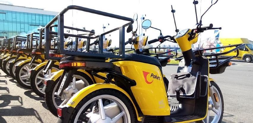 Hrvatska: Poštari od sada dostavljaju i na električnim mopedima