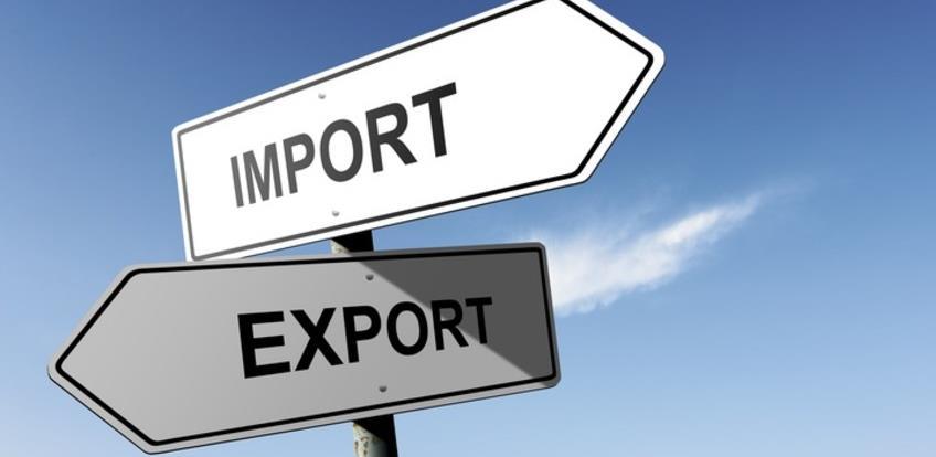 U prva dva mjeseca 2020. godine pad i izvoza i uvoza