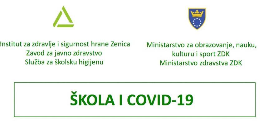 """Na raspolaganju INZ-ova elektronska brošura """"Škole i COVID-19"""""""