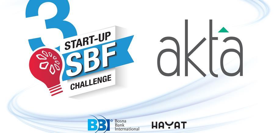 Mjesto dobrih priča: Akta.ba i ove godine sponzor (SBF) Start-up Challenge
