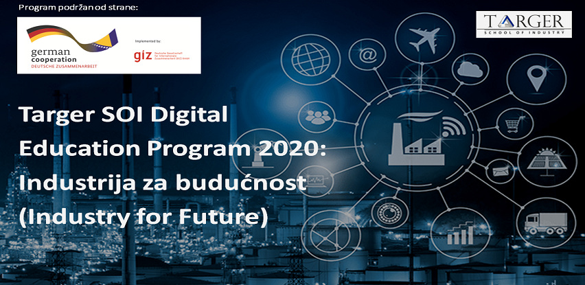 Targer SOI Digital Education Program 2020: Industrija za budućnost