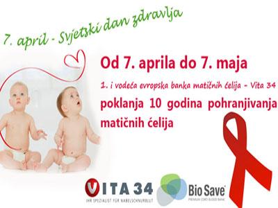 Na Svjetski dan zdravlja – Bio Save poklanja!