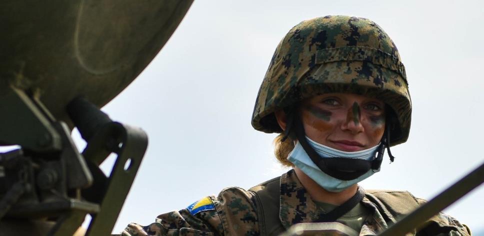 Oružane snage BiH pokazale visok stepen obučenosti u skladu sa NATO standardima