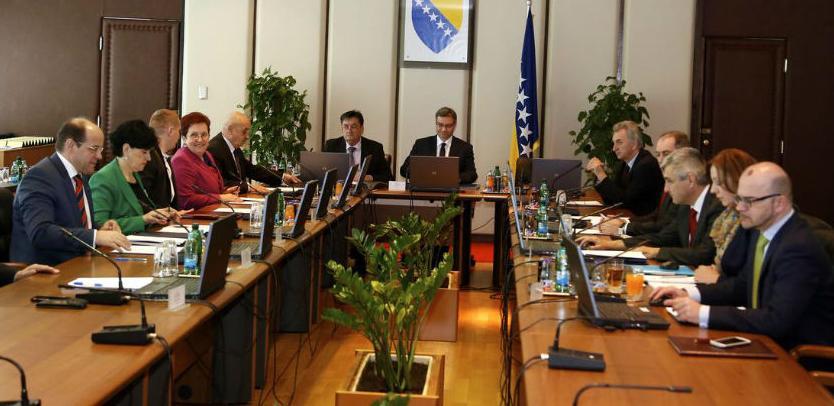 Telefonska sjednica Vijeća ministara održana u skladu sa procedurom