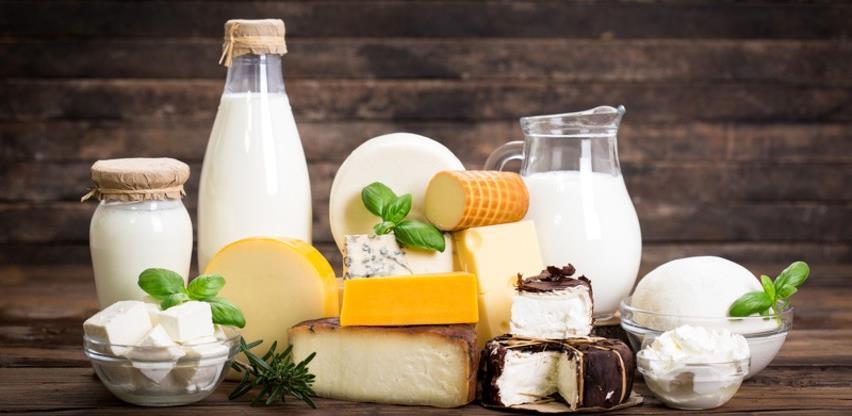 U prvom polugodištu izvoz mliječnih proizvoda manji za 10,8 odsto