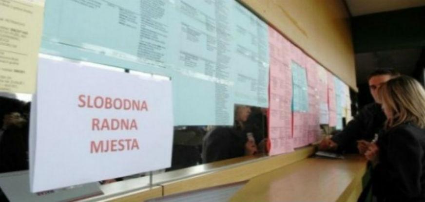 Prošle godine u BiH 15,7 odsto nezaposlenih