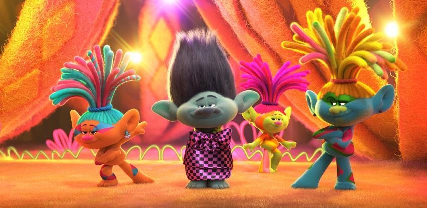 Šareni, raspjevani i veseli Trolovi su se vratili i stižu u naša kina
