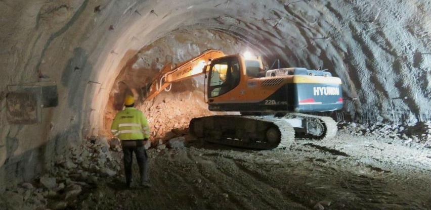 Pogledajte radove u tunelu Hranjen