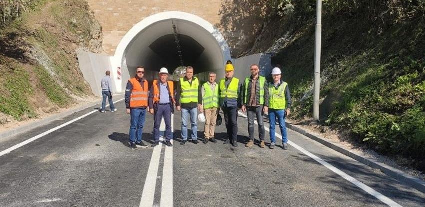 Završeni radovi na sanaciji tunela Vinac na cesti Jajce - Donji Vakuf