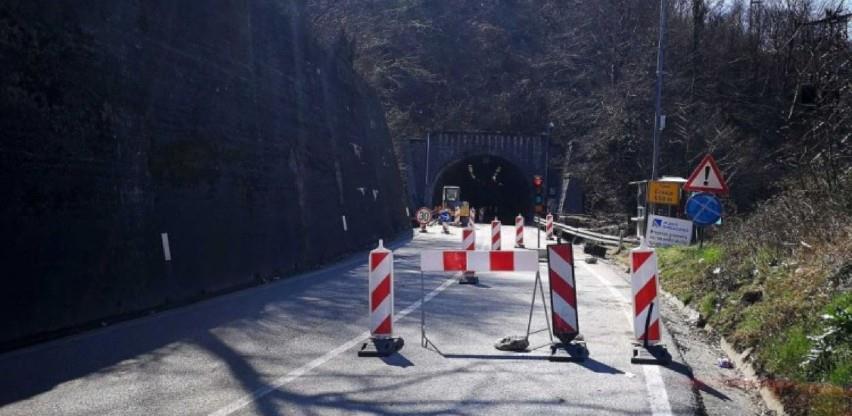 Od danas ponovo naizmjeničan promet vozila kroz tunel Crnaja