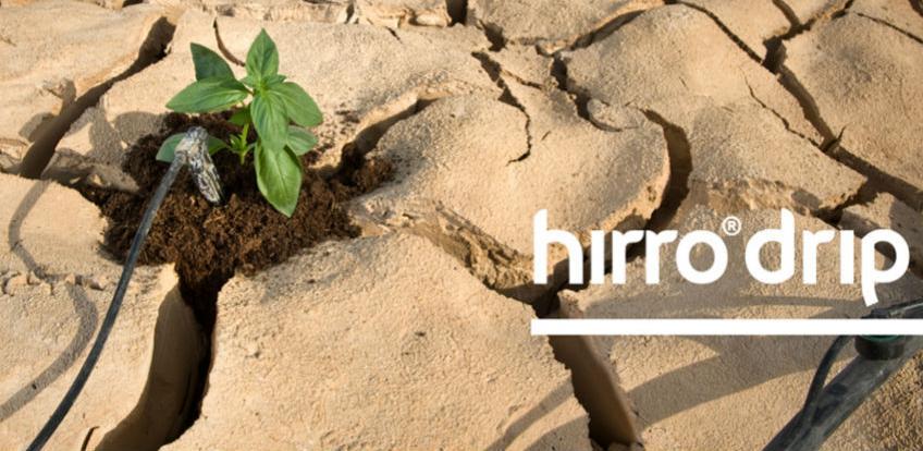 Hirro drip - Maksimalan učinak uz minimalnu potrošnju vode