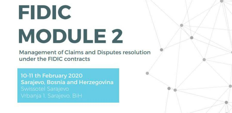 Trening: Management of Claims and Resolution of Disputes