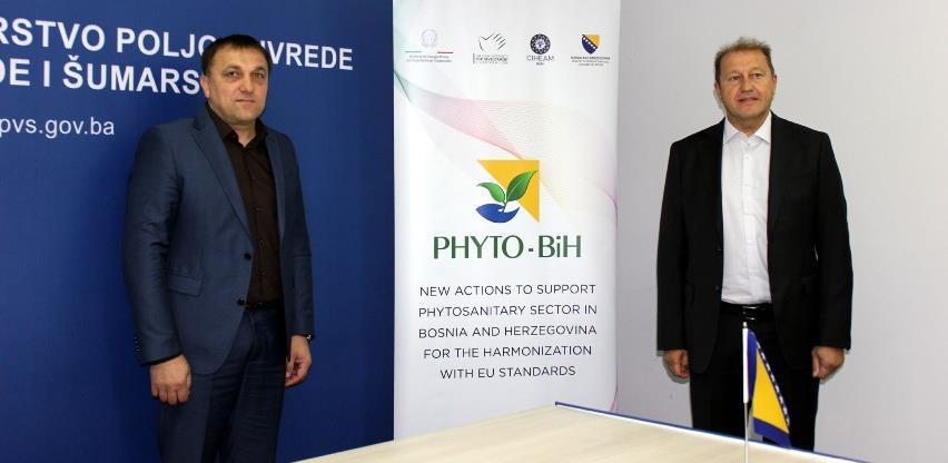 Dedić: Podrška jačanju fitosanitarnog sistema