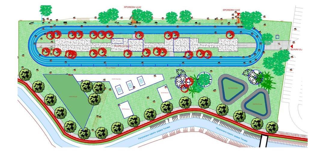 Predstavljeno idejno rješenje budućeg sportsko-rekreativnog kompleksa 'Čiča'