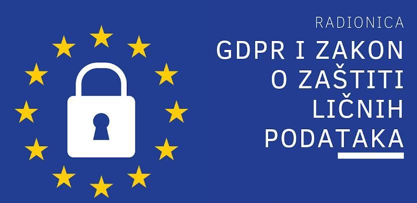CPE organizuje radionicu na temu GDPR-a i Zakona o zaštiti ličnih podataka