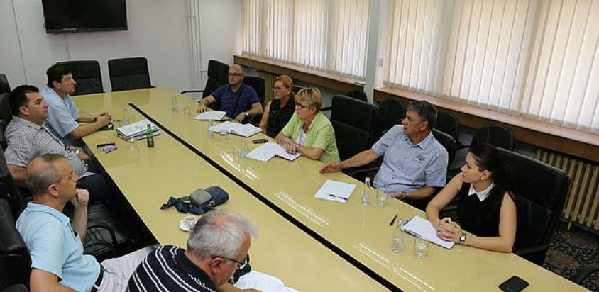 Sastanak o problematici izvođenja radova na izgradnji mosta u Drivuši