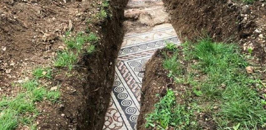 Rimski mozaik otkriven ispod vinograda u blizini Verone