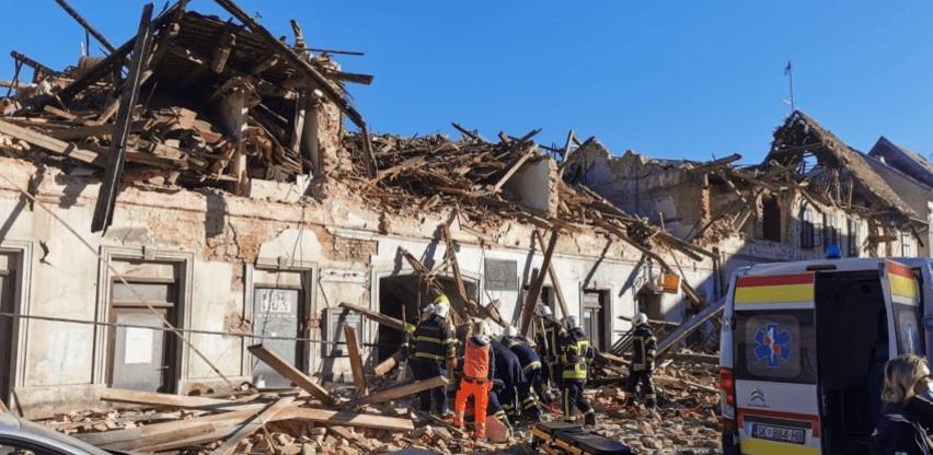 Saniranje posljedica zemljotresa: Za Kostajnicu 100.000 KM, pomoć Hrvatskoj u iznosu od 500.000 KM