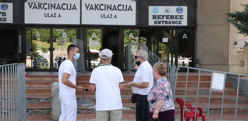 U Zetri revakcinacija za građane koji su primili prvu dozu AstraZenece van BiH