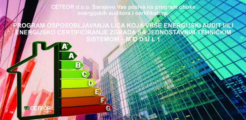 CETEOR program obuke energijskih auditora i certifikatora