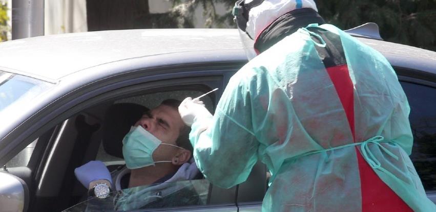 U Sarajevu s radom počinje drive-in punkt za testiranje na koronavirus