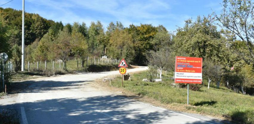 Nastavak radova na putnom pravcu Tuzla - Čelić