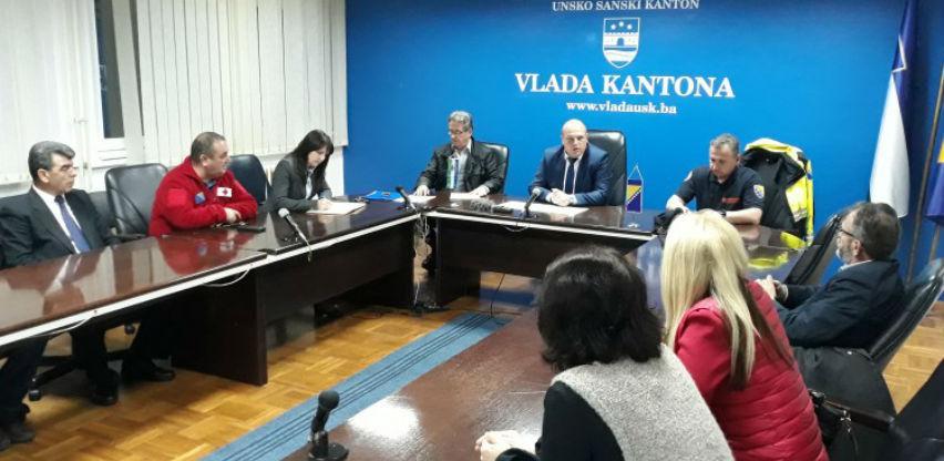 Bosanska Krupa i Sanski Most proglasili stanje prirodne nesreće