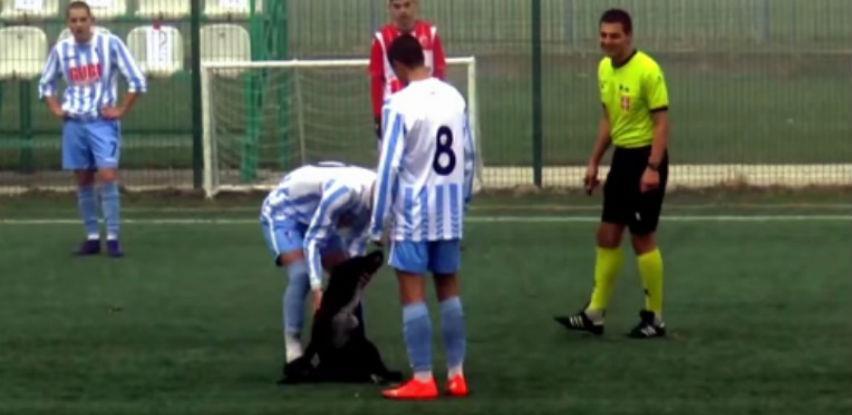 Igrači FK Spartaka pokazali veliko srce na terenu