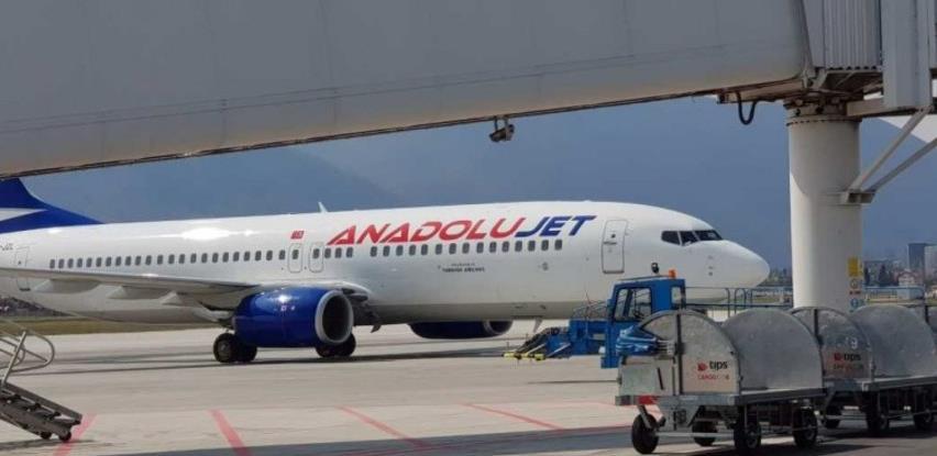 Na Sarajevski aerodrom sletio prvi avion kompanije AnadoluJet