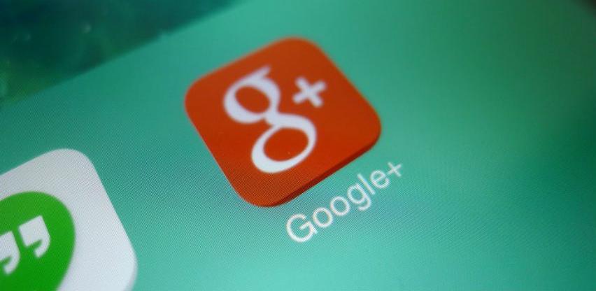 Google danas ugasio Google+